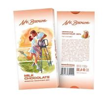 Mr.Brown – шоколад молочный 100г в картонной упаковке