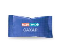 Порционный сахар с логотипом в подушечках по 5 грамм