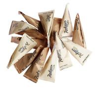 Порционный сахар с логотипом тетраэдр 5г пирамидка
