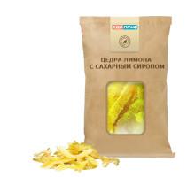 Цедра лимона пропитанная сахарным сиропом