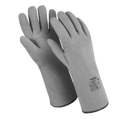 Перчатки термостойкие Manipula Specialist Термофлекс из трикотажного полотна с нитриловым покрытием