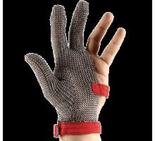 Кольчужные перчатки для разделки мяса с фиксирующими ремешками