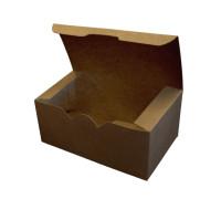 Коробка для наггетсов, крылышек, картофеля фри 350 мл бумага (300 шт.)