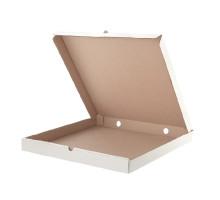 Коробка для пиццы картон белый (50 шт.)