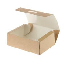 Коробка универсальная 500 мл бумага крафт (600 шт.)