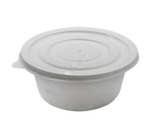 Крышка для супового контейнера 410 мл пластик (576 шт.)