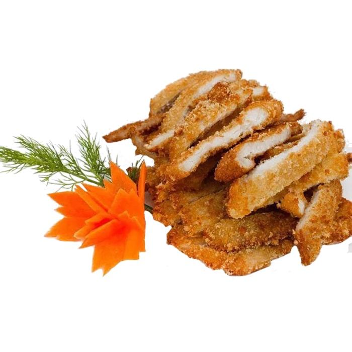 Мясо в панировочных сухарях