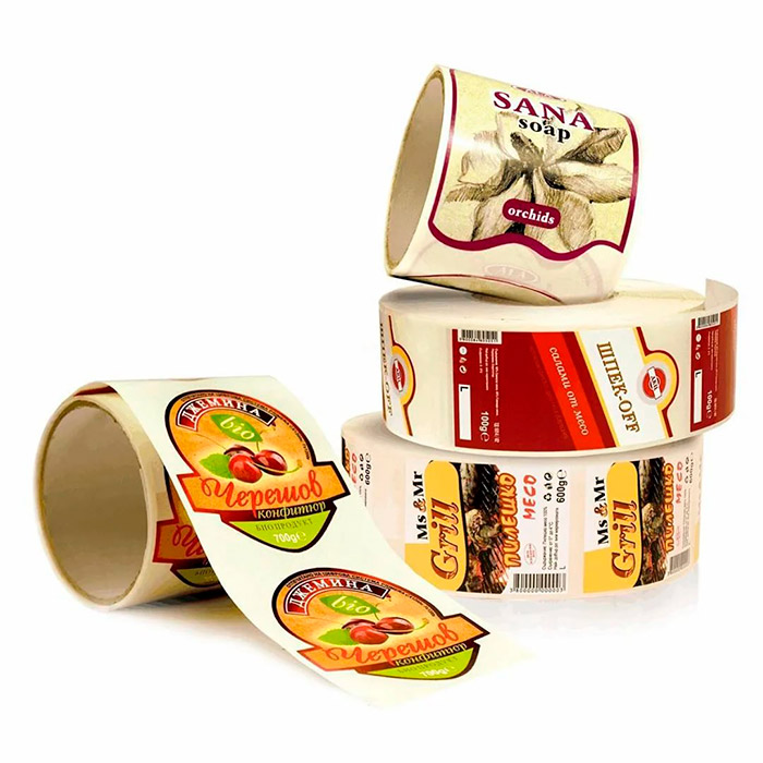Этикетка для продуктов