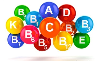 Витамины асортиментк А, В1, D, C и другие