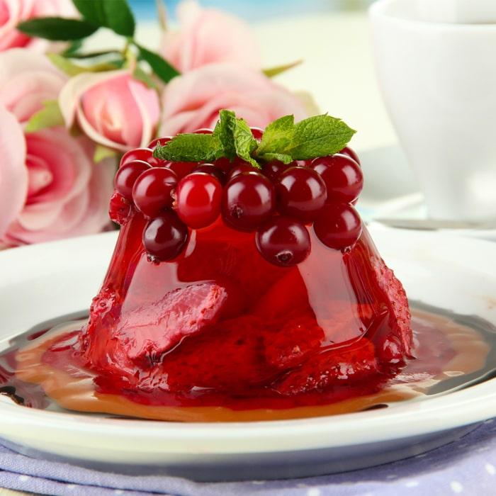 красное ягодное желе с Агар агаром gelagar